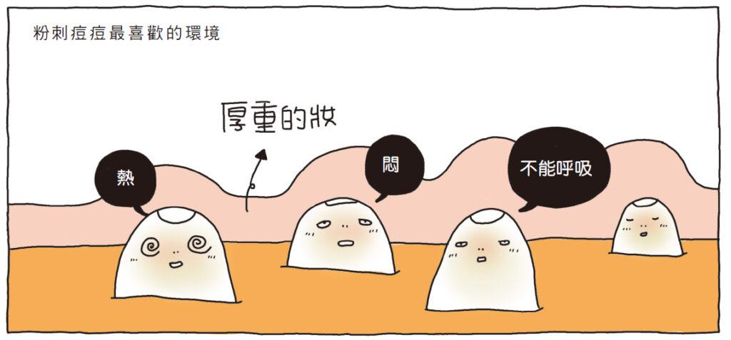 痘菌(厭氧菌)最喜歡的環境就是油膩、悶熱的環境