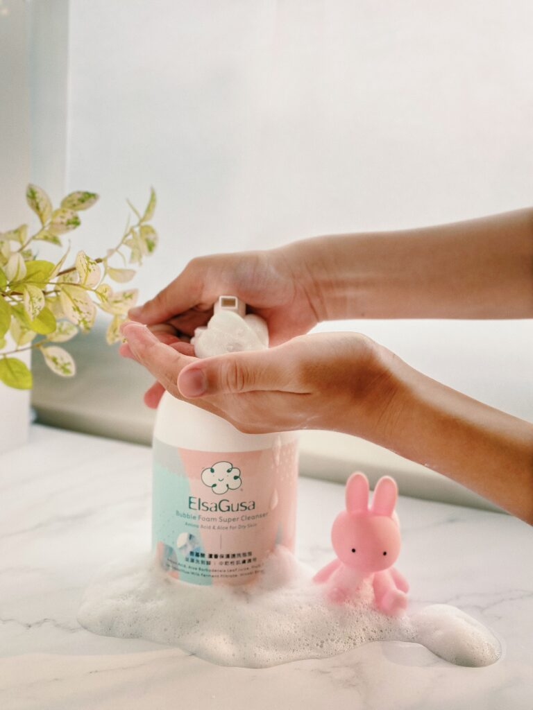 胺基酸 蘆薈保濕速洗泡泡